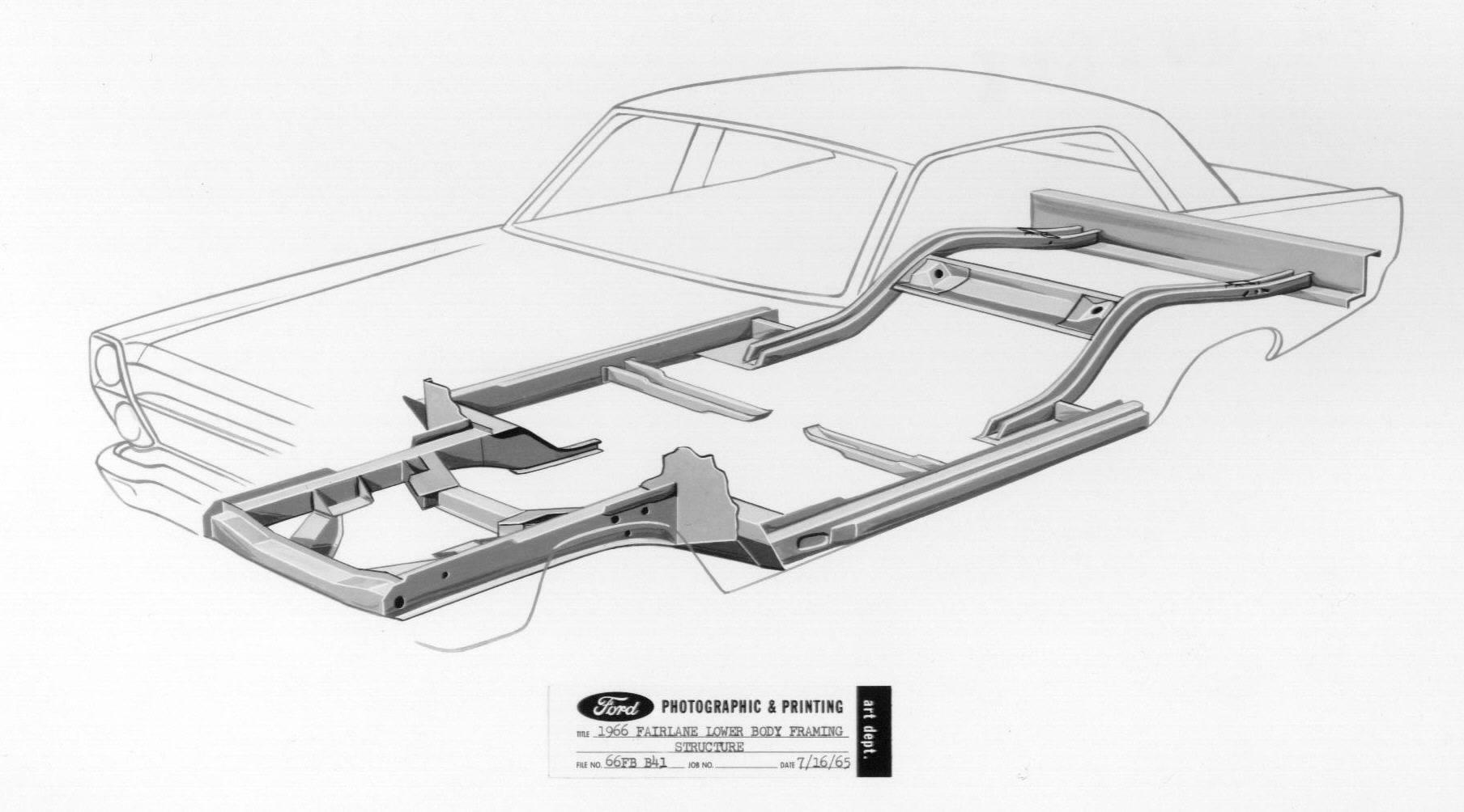 1966 Fairlane 500 390 w/428CJ
